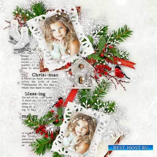 Новогодний скрап-комплект - Рождественная радость