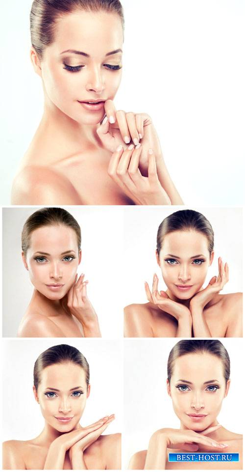 Beautiful and well-groomed girl - female stock photos