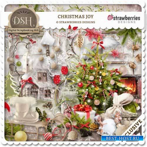 Рождественский скрап-набор - Рождественская радость