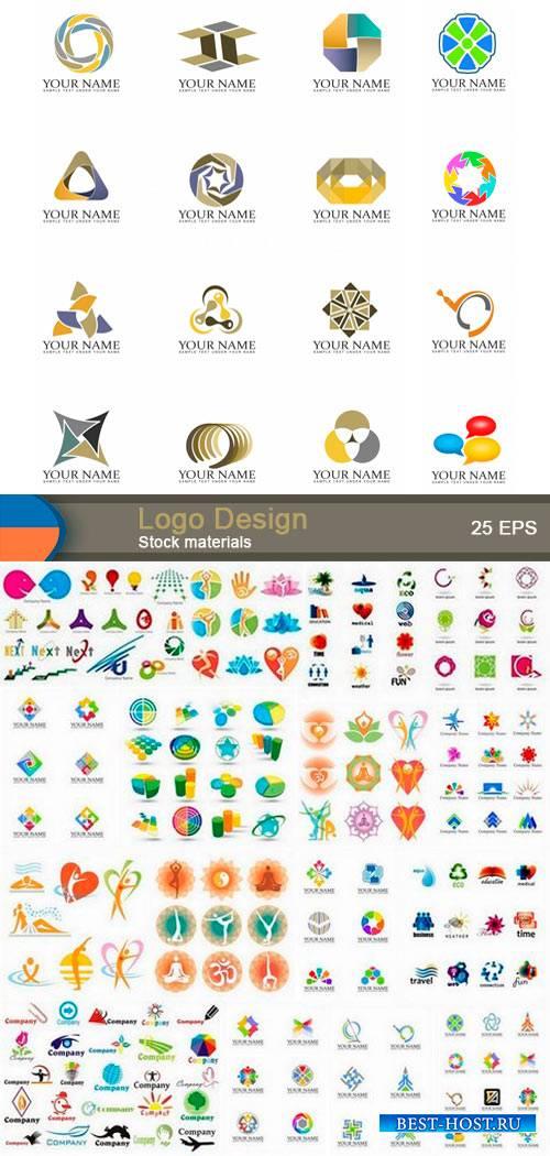 Векторные логотипы на разную тему 2