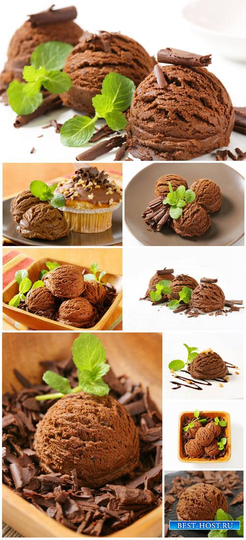 Ice cream, delicious dessert #2 - stock photos