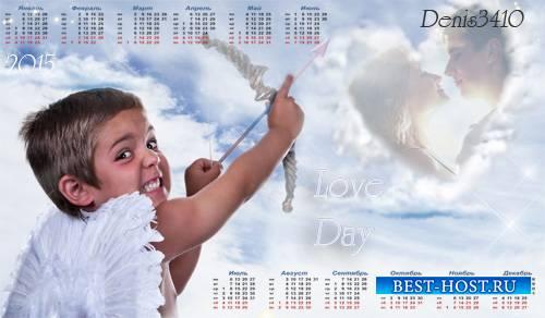 Рамка для фото с календарем - Любовь зла...