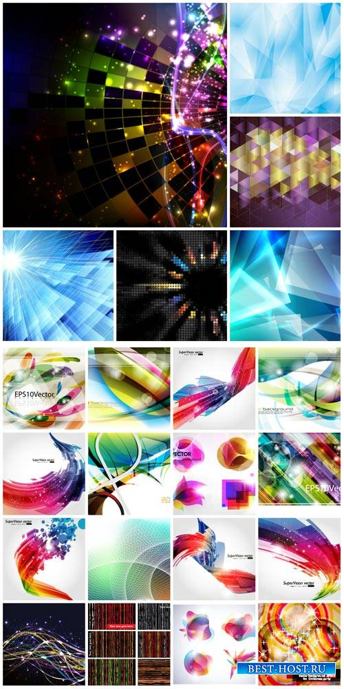 Vector backgrounds with abstraction # 48