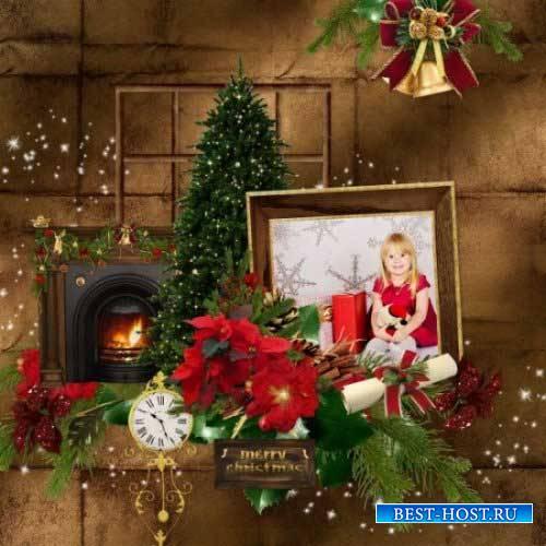 Новогодний скрап-комплект - Noel Passe