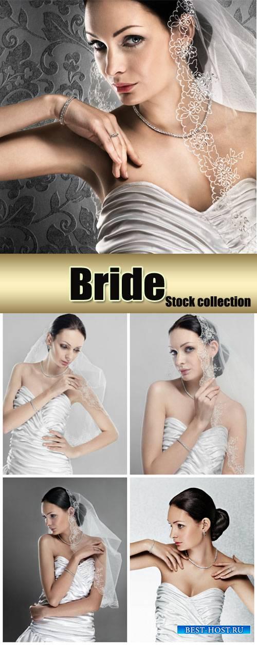 Bride, beautiful woman - Stock Photo