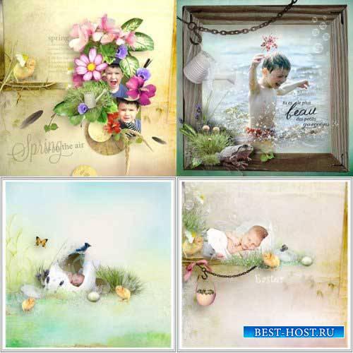 Весенний скрап-комплект - Весенние цвета