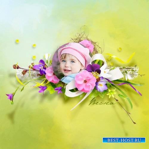 Очаровательный весенний скрап-набор - Весеннее настроение
