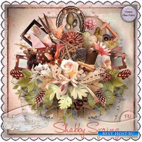 Винтажный скрап-комплект - Shabby Spring