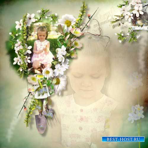 Весенний скрап-комплект - Моя мелодия
