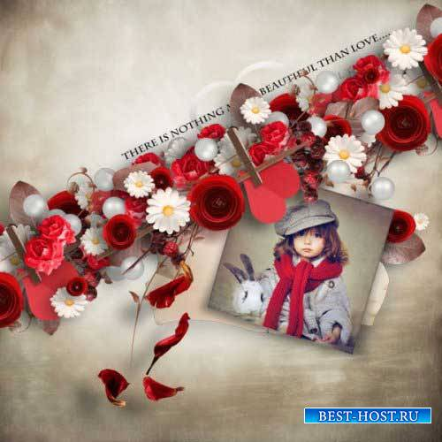 Романтический скрап-набор - Истинная любовь