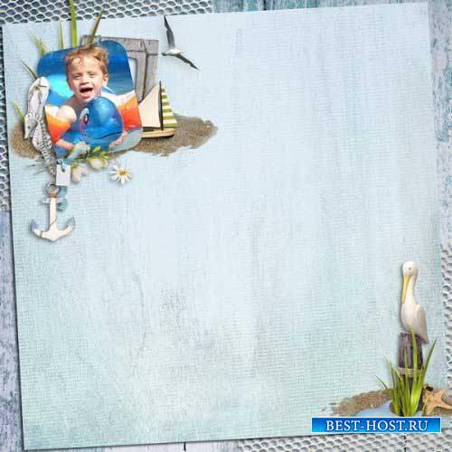 Морской скрап-комплект - Море воспоминаний
