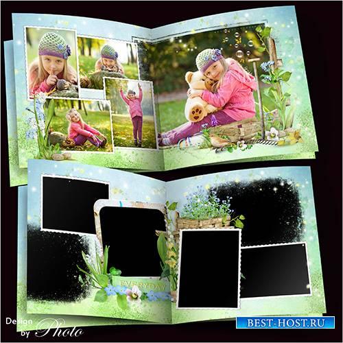 Семейная фотокнига - Уж тает снег, бегут ручьи, в окно повеяло весною