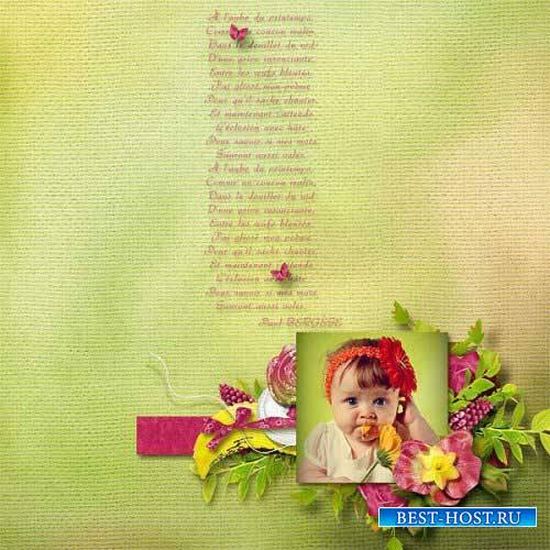 Весенний скрап-комплект - Моя весна