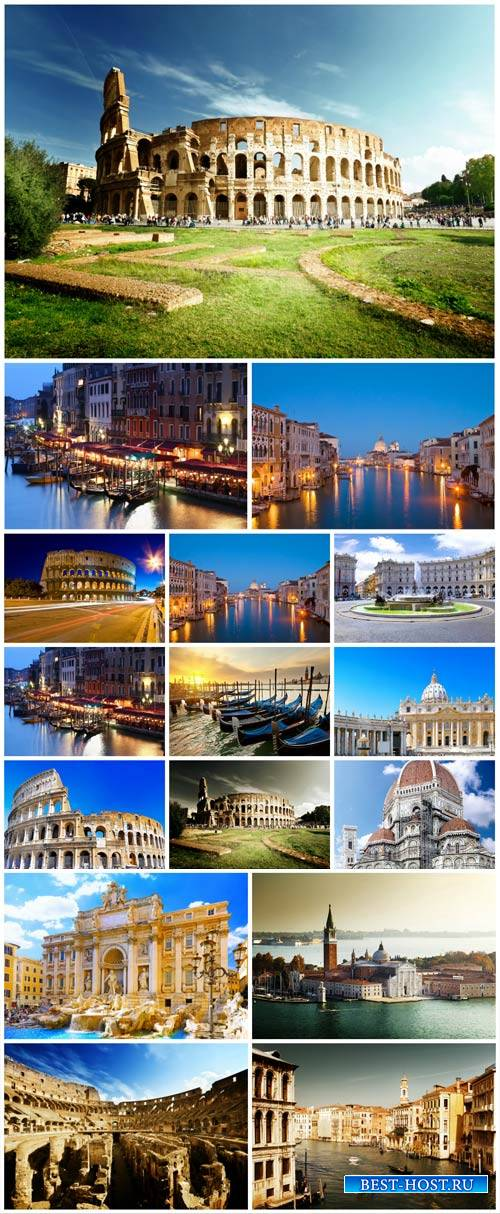 Italy, architecture, country, city - stock photos