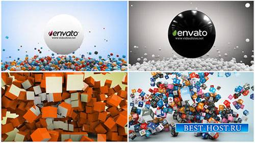 2 In 1 Social Network Logo Reveal - Project for After Effects (Videohive)