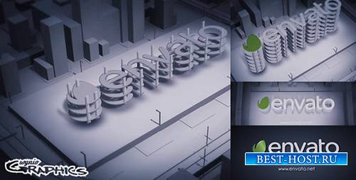 Dark Build-up Logo - Project for After Effects (Videohive)