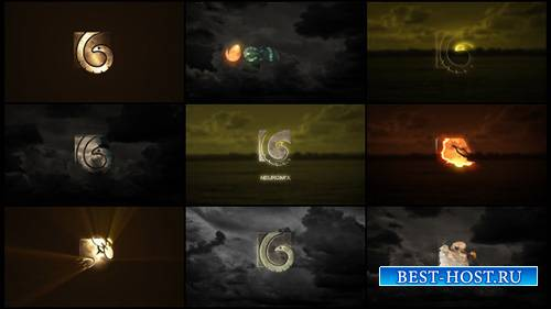 10 Cinematic Logos - Project for After Effects (Videohive)