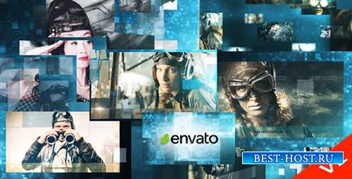 Mosaic Photos Adventure (V2) - Project for After Effects (Videohive)