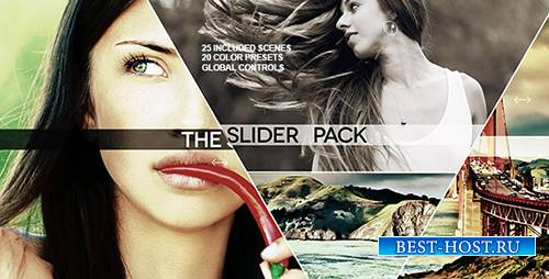 The Slider Pack - Project for After Effects (Videohive)