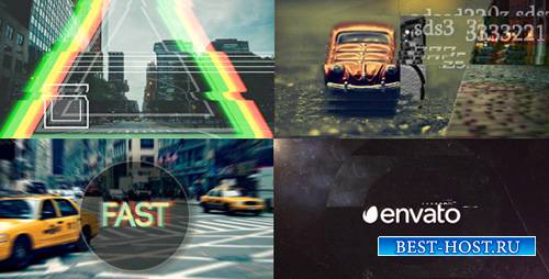 Fast Glitch Logo Opener - Project for After Effects (Videohive)