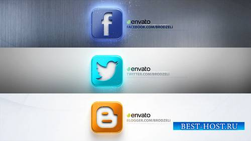 PopUp Logos - Project for After Effects (Videohive)