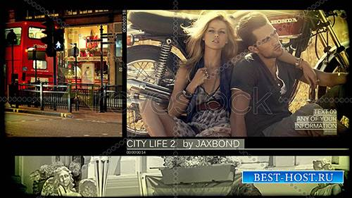 City Life 2 - Film Slideshow - Project for After Effects (RevoStock)
