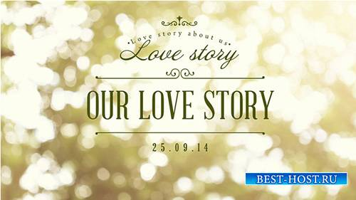 Our Love Story - Project for After Effects