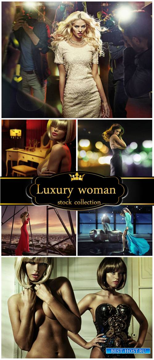 Luxury woman - Stock Photo
