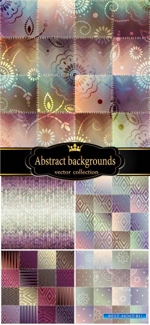 Abstract vector backgrounds, color texture