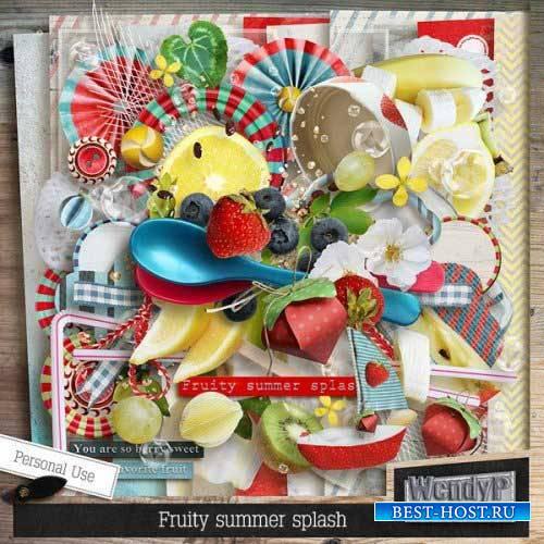 Летне-фруктовый скрап-набор - Fruity Summer Splash