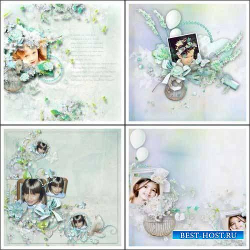 Романтический скрап-комплект - Весенняя любовь