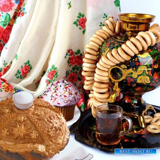 Пироги, пряники, караваи - славное угощение к Пасхе