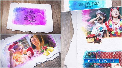 Colorful Christmas Gallery - Project for After Effects (Videohive)