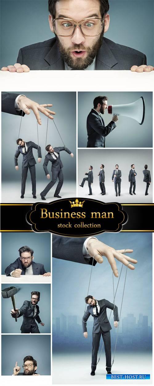 Business man - creative stock photos