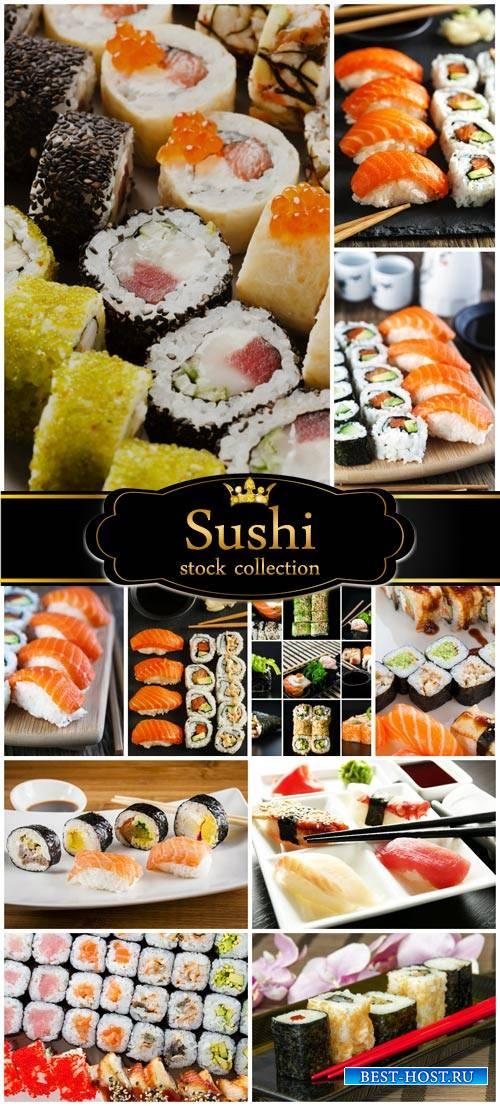 Sushi Japanese Cuisine - stock photos