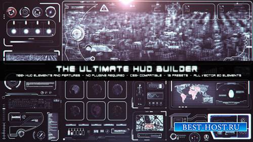The Ultimate HUD Builder - Project for After Effects (Videohive)