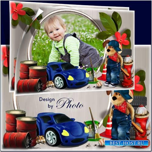 Детская рамка для фото - Весёлая мастерская