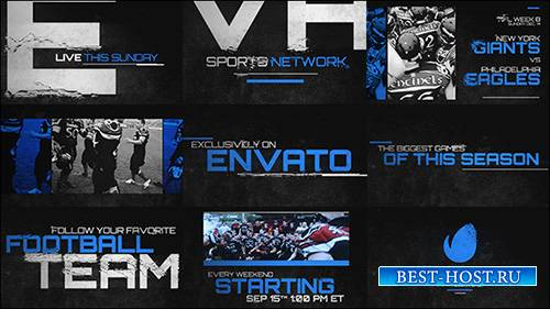 Grunge Sports Promo - Project for After Effects (Videohive)