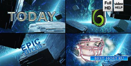 Epic Cube Trailer - Project for After Effects (Videohive)