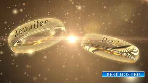 Wedding Rings - Project for After Effects