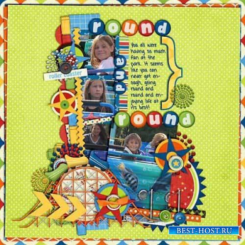 Детский скрап-комплект - Мои забавы