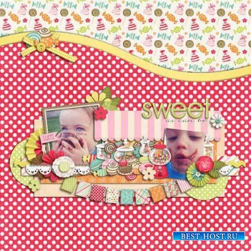 Детский скрап-комплект - Вкуснятина
