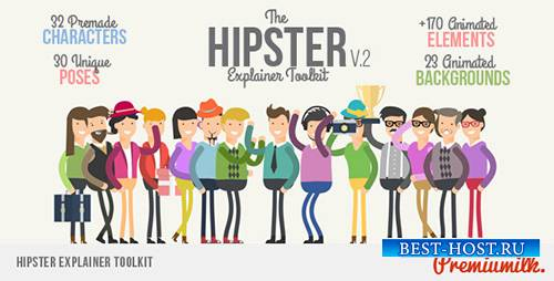 Hipster Explainer Toolkit - Project for After Effects (Videohive)