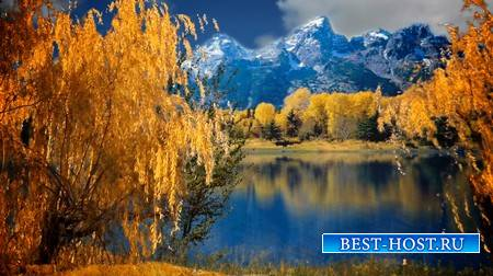 Футаж - Осенний пейзаж