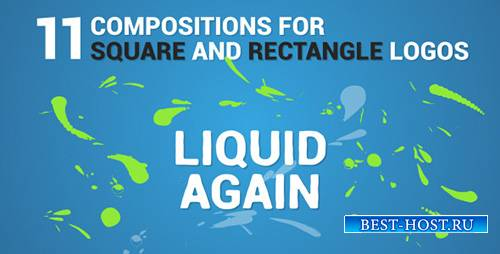 Liquid Logo Reveal Again - Project for After Effects (Videohive)
