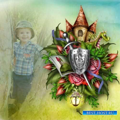 Детский сказочный скрап-комплект - Хранитель