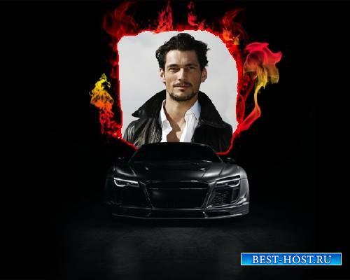 Рамка psd - Черная Audi
