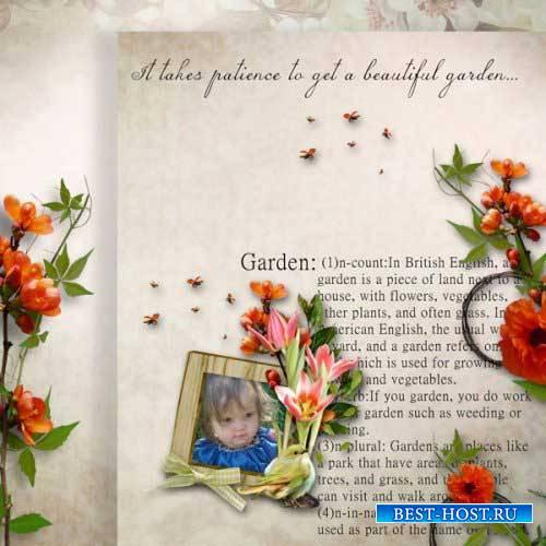 Летний скрап-комплект - Cottage garden