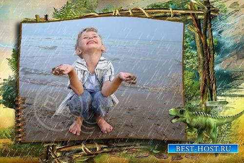 Детская рамочка для фотографий - Юрский период