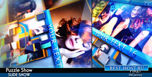Puzzle Show - Project for After Effects (Videohive)